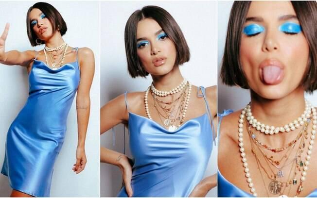 O slip dress, uma das peças favoritas de Manu Gavassi, marcou alguns de seus melhores looks deste ano