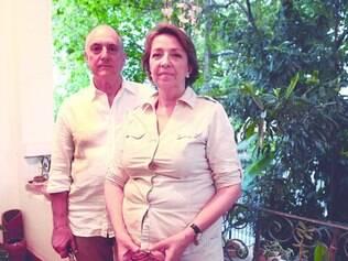 Parceria. O casal José Ramon Navarro e Marie Helene Laurent de Navarro (Marion) ensina o método educacional em todo o mundo