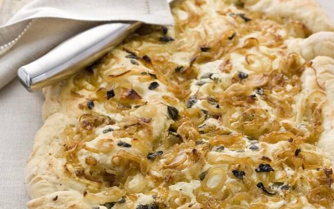 Foto da receita Pão de cebola com cream cheese pronta.