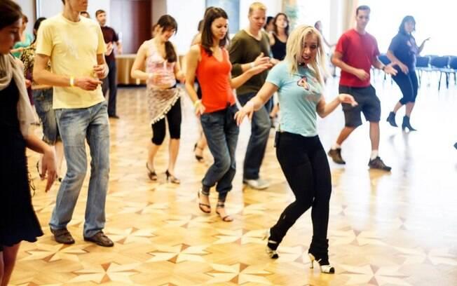 Foi no evento de dança que Igor teve o primeiro contado com vários ritmos latinos e se apaixonou pela dança