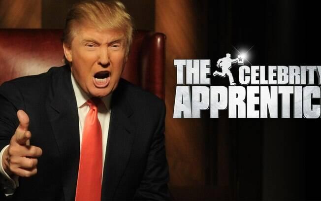 """Em 2003, deu início a um reality show no canal da NBC chamado """"The Apprentice"""""""