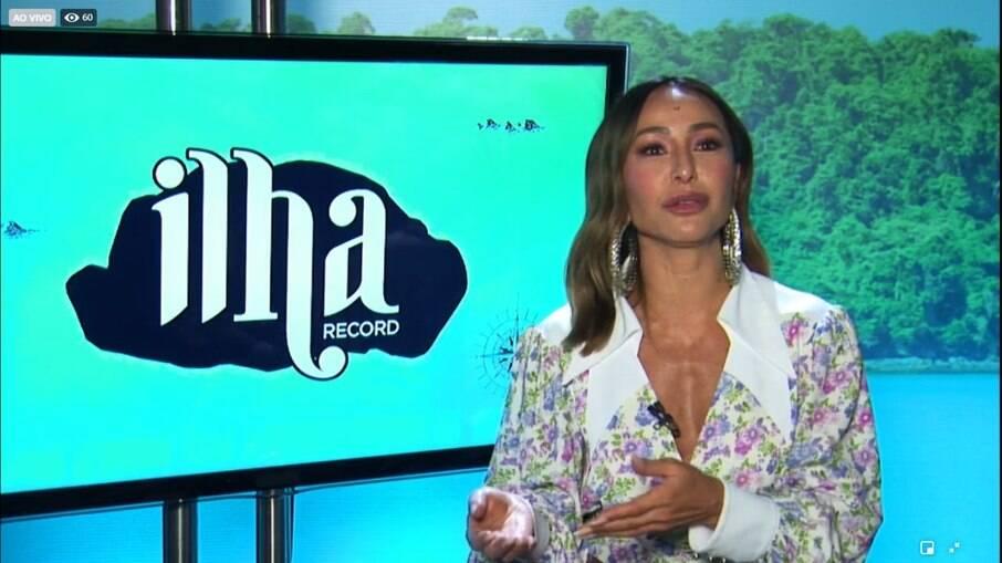 Sabrina Sato falou detalhes da produção de Ilha Record