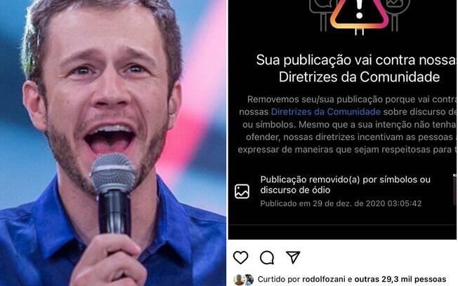Tiago Leifert cobra explicação sobre vídeo deletado de Felipe Neto