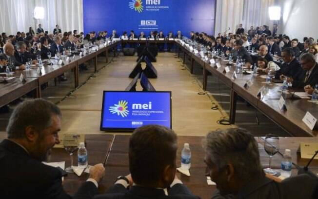 Michel Temer se reuniu com empresários durante na sede da Confederação Nacional da Indústria