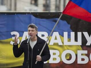 Boris Y. Nemtsov, foi morto em uma rua no centro de Moscou (15.03.14)