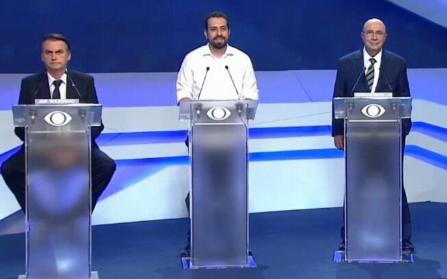 Confira os memes do debate com os candidatos à Presidência da República%2C promovido pela TV Bandeirantes