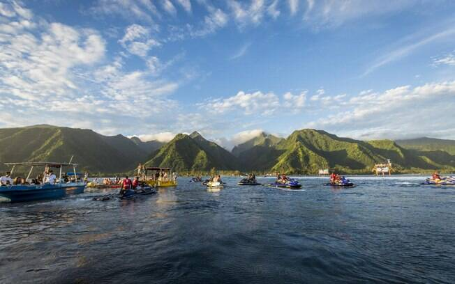 Taiti recebe a sétima etapa do mundial de surfe