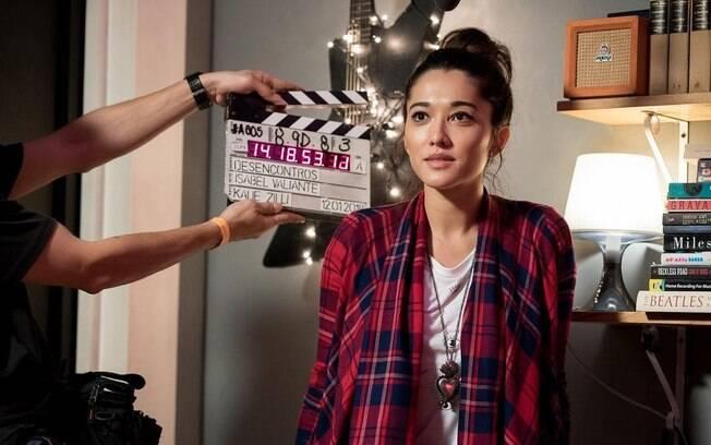 Jacqueline Sato é Marina na série