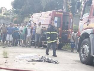 Cinco crianças estavam na residência no momento do incêndio