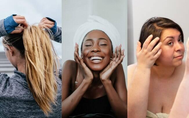 Os cuidados básicos com o cabelo vão desde a forma como a gente prende os fio até a necessidade de hidratação