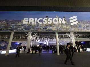 Estande da Ericsson no MWC 2013