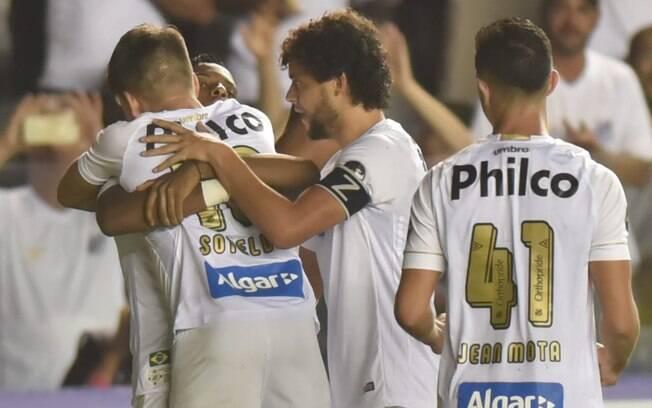 Santos venceu o Vasco por 2 a 0 na abertura da 4ª fase da Copa do Brasil