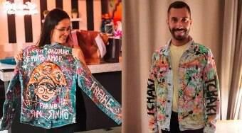 Conheça o criador das jaquetas personalizadas de Gil e Juliette