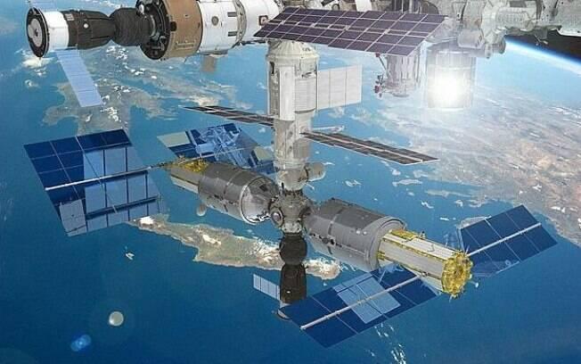 Agência espacial do país  Roscosmos estima inaugurar um hotel cinco estrelas na estação espacial russa em 2021