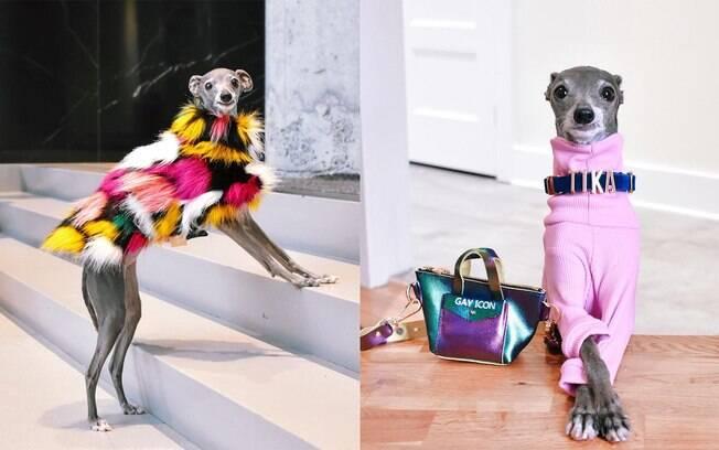 Tika é uma sensação nas redes sociais com looks super estilosos