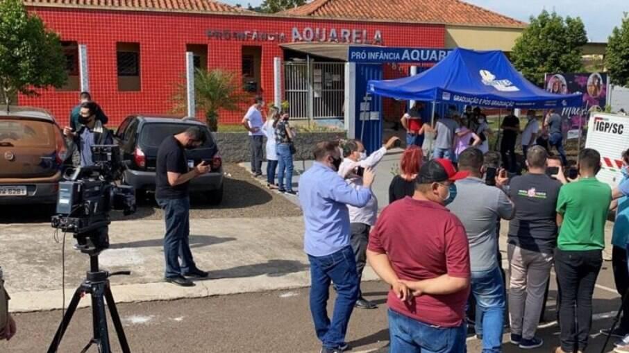 Ataque a creche do município de Saudades em Santa Catarina aconteceu na manhã desta terça-feira (4)