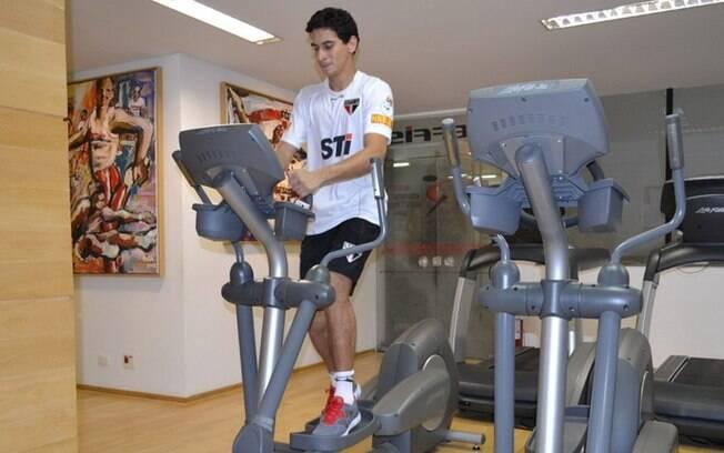 Ganso iniciou nova fase em seu tratamento e  agradou o técnico Ney Franco