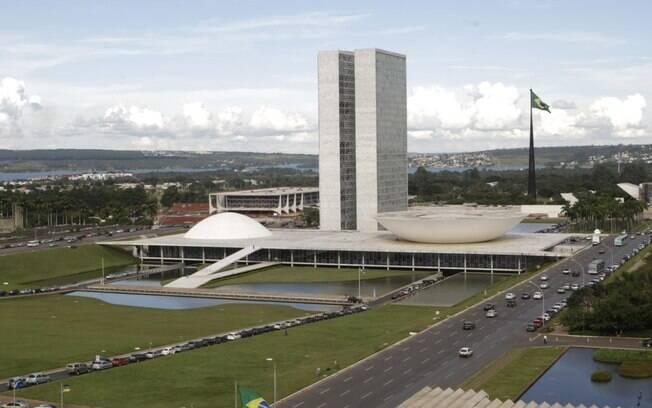 Congresso á tinha reduzido visita ao Parlamento