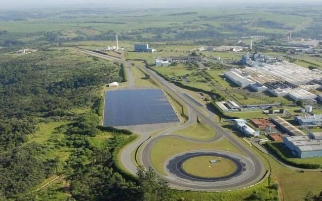A Goodyear, atualmente, conta com uma pista de testes exclusiva, para o desenvolvimento de novos produtos