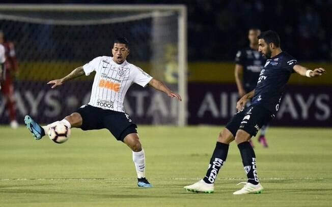 Corinthians finaliza pouco no Brasileirão