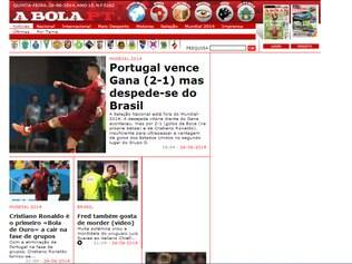 'A Bola' destacou vitória insuficiente e feito negativo de Cristiano Ronaldo