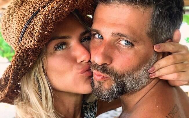Giovanna Ewbank e Bruno Gagliasso em Omã