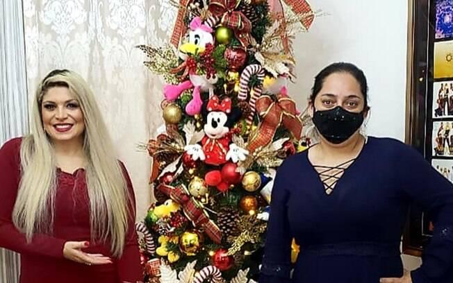 Adryana Ribeiro e Sirlei Santos