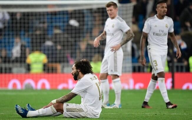Real Madrid foi eliminado da Copa do Rei perdendo em casa