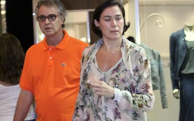Lília Cabral e o marido, Ivan Figueiredo