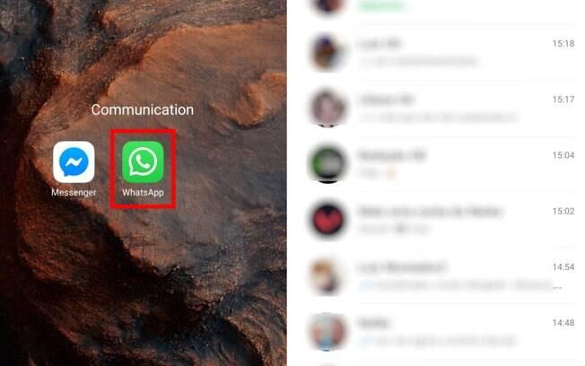 Como escolher um papel de parede diferente para cada conversa no WhatsApp