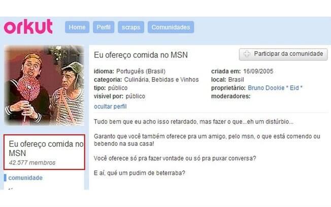 Você também ficava logado no Orkut e MSN ao mesmo tempo?