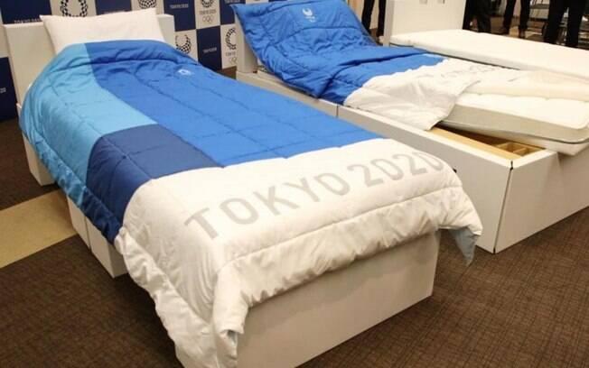 Camas da Vila Olímpica de Tóquio serão feitas de papelão