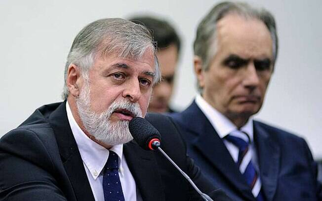 Paulo Roberto Costa em depoimento à Comissão Parlamentar de Inquérito, nesta terça-feira