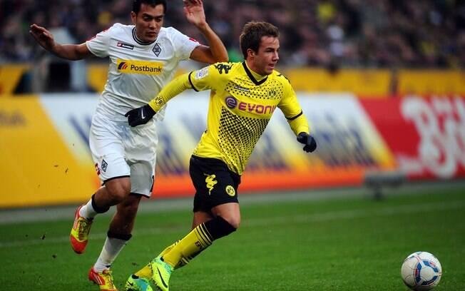 3º - Mario Götze, 20 anos, meia do Borussia  Dortmund e da seleção alemã