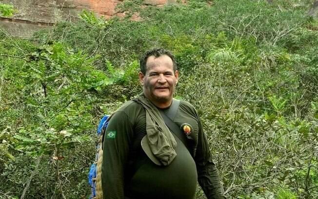 Coordenador da Frente de Proteção Etnoambiental Uru-Eu-Wau-Wau, Rieli Franciscato