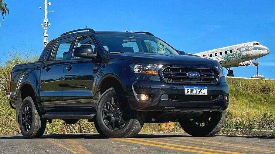 Ranger Black 2021 é uma das versões disponíveis no serviço de assinatura Ford Go