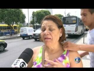 Mulher foi atacada enquanto era entrevistada
