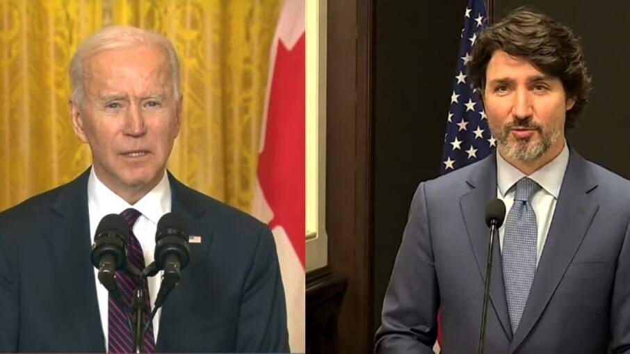 Biden e Trudeau se comprometem a zerar emissões de poluentes até 2050