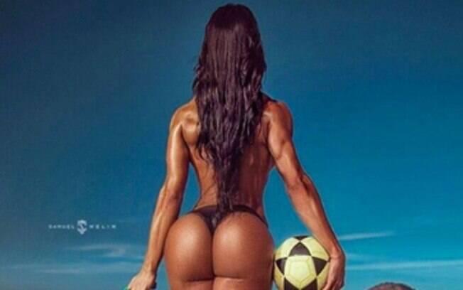 Gracyanne Barbosa tem um bumbum inigualável