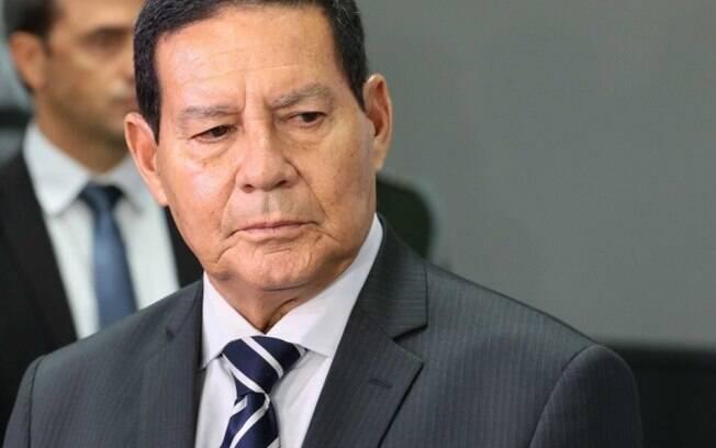 Vice-presidente Hamilton Mourão.
