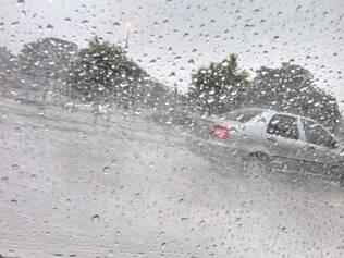 Chuva em Belo Horizonte