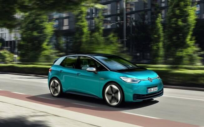 VW ID.3 verde