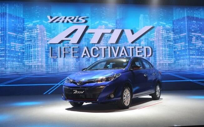 Toyota Yaris: sedã deverá chegar junto com o hatch para entrar na briga com VW Virtus, Fiat Cronos e companhia