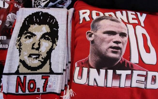 Faixa no Old Trafford homenageia Cristiano  Ronaldo, ex-United