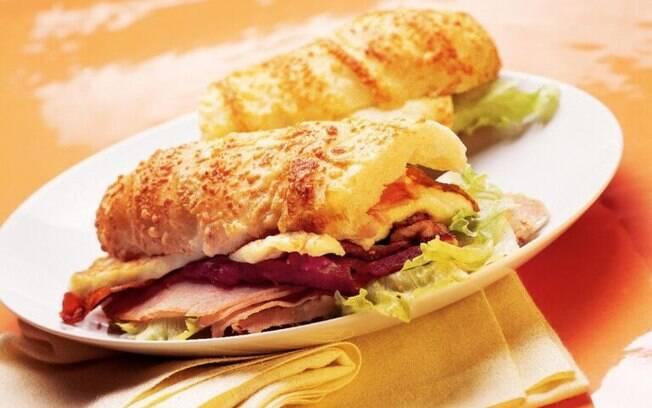 Oito receitas de sanduíches para provar quando a fome bater