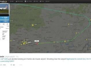 Alterações são normais, neste tipo de situação, segundo Air France