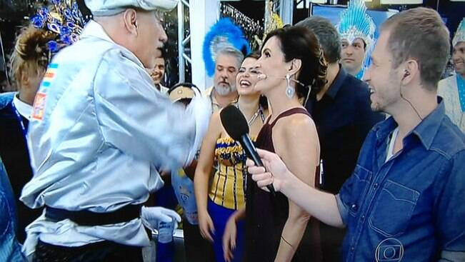 Cinco gafes e bafos na cobertura do carnaval na TV