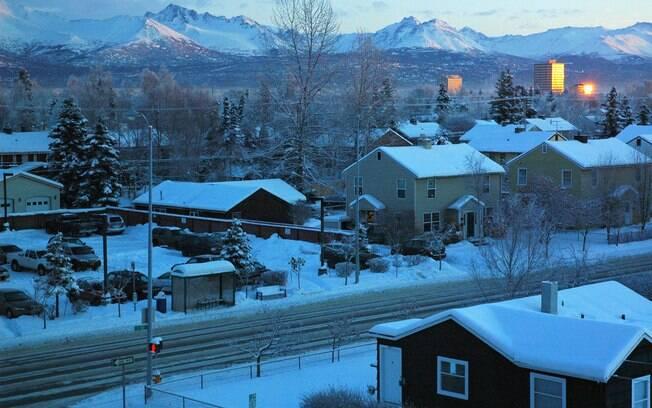 Terremoto de 7,1 graus no Alasca — Desespero