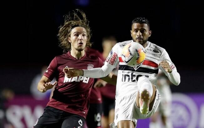 São Paulo foi eliminado pelo Lanús na Copa Sul-Americana