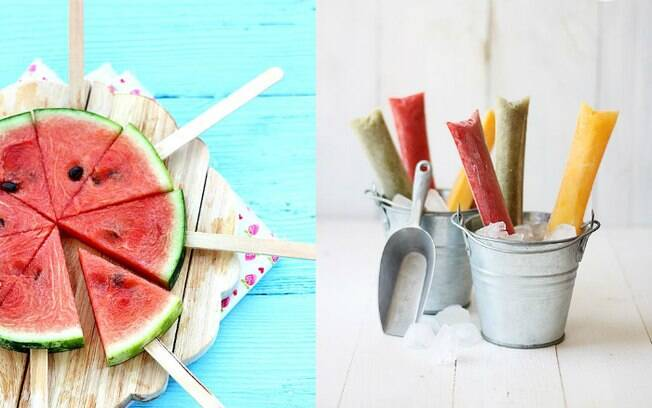 Formas diferentes de servir as frutas pode incentivar até mesmo os mais chatos para comer a experimentar